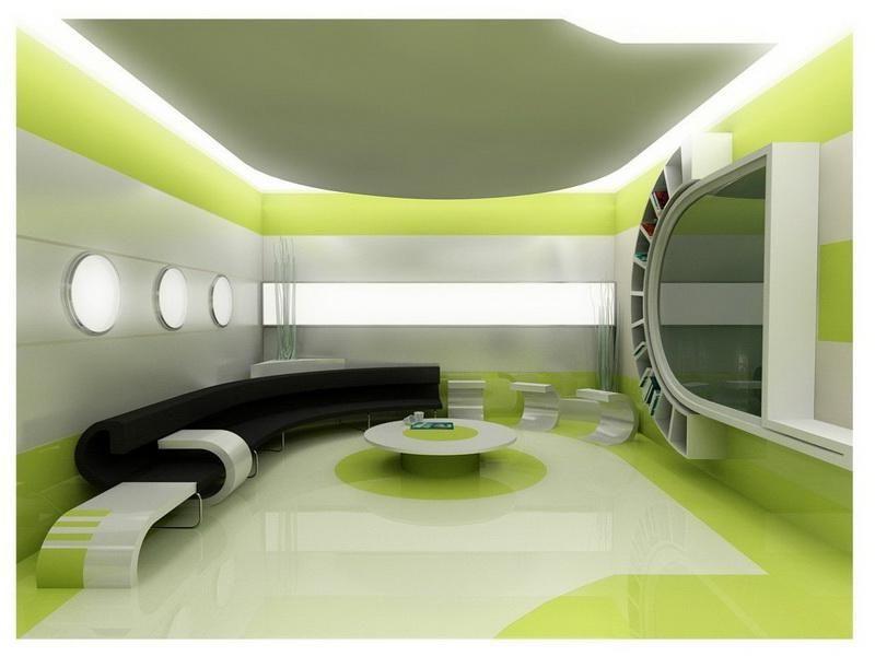 رنگ دیوارهای منزل