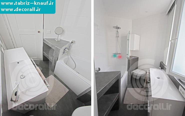 ساخت حمام با کناف