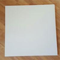 تایل گچی رنگ شده سفید با فویل آلومینیوم کناف