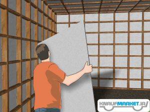 آموزش نصب پانل کناف روی سقف