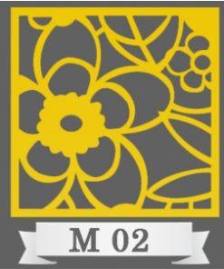 تایل سقفی دکوراتیو کد M2
