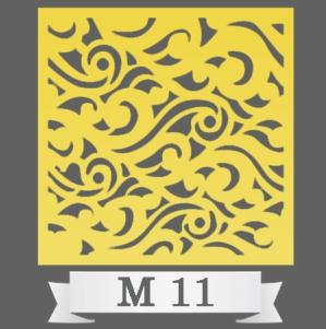 تایل سقفی دکوراتیو کد M11