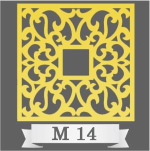 تایل سقفی دکوراتیو کد M14