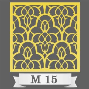 تایل سقفی دکوراتیو کد M15