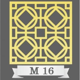 تایل سقفی دکوراتیو کد M16