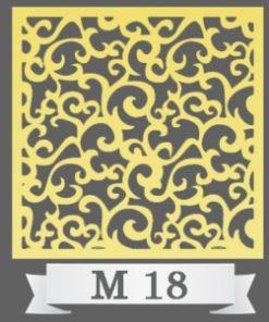 تایل سقفی دکوراتیو کد M18