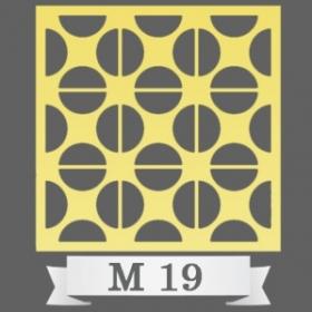 تایل سقفی دکوراتیو کد M19