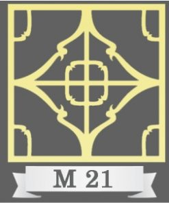 تایل سقفی دکوراتیو کد M21