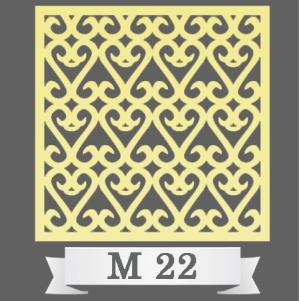 تایل سقفی دکوراتیو کد M22