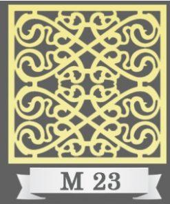 تایل سقفی دکوراتیو کد M23