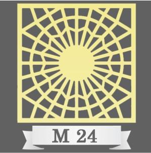 تایل سقفی دکوراتیو کد M24