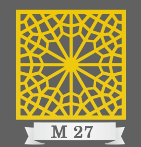 تایل سقفی دکوراتیو کد M27