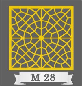 تایل سقفی دکوراتیو کد M28