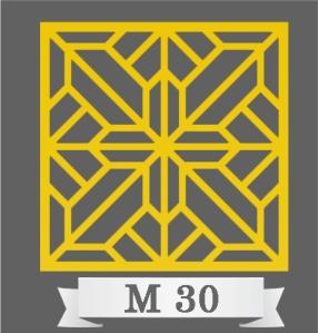 تایل سقفی دکوراتیو کد M30