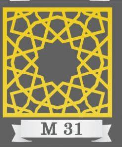 تایل سقفی دکوراتیو کد M31