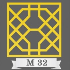 تایل سقفی دکوراتیو کد M32