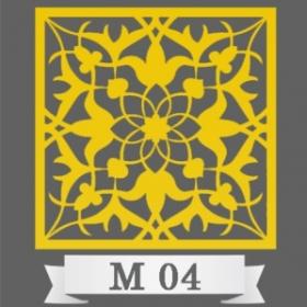 تایل سقفی دکوراتیو کد M4