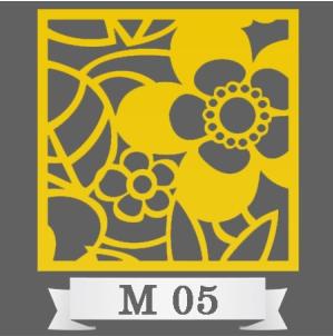 تایل سقفی دکوراتیو کد M5