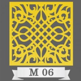تایل سقفی دکوراتیو کد M6
