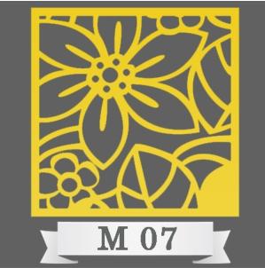 تایل سقفی دکوراتیو کد M7