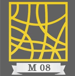 تایل سقفی دکوراتیو کد M8