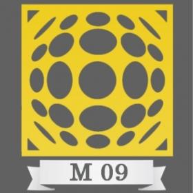تایل سقفی دکوراتیو کد M9
