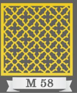 تایل سقفی دکوراتیو M58