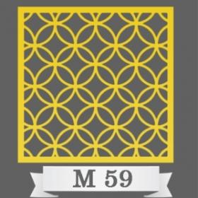 تایل سقفی دکوراتیو M59