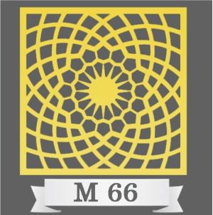 تایل سقفی دکوراتیو M66