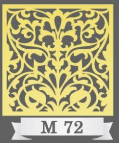 تایل سقفی دکوراتیو M72
