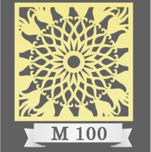 تایل سقفی دکوراتیو M100