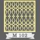 تایل سقفی دکوراتیو M102