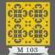 تایل سقفی دکوراتیو M103