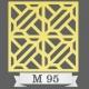 تایل سقفی دکوراتیو M95