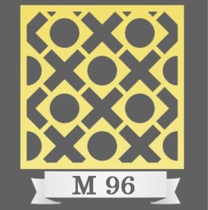 تایل سقفی دکوراتیو M96