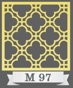 تایل سقفی دکوراتیو M97