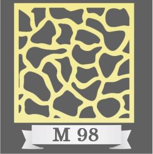 تایل سقفی دکوراتیو M98