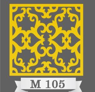 تایل سقفی دکوراتیو M105