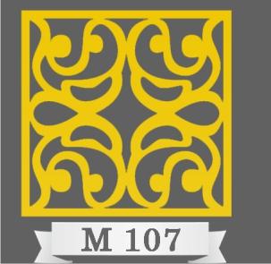تایل سقفی دکوراتیو M107