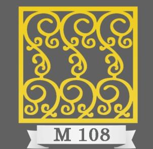 تایل سقفی دکوراتیو M108