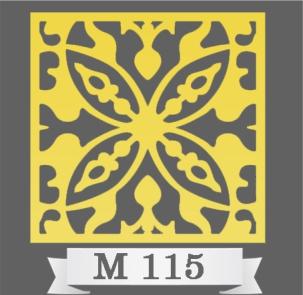 تایل سقفی دکوراتیو M115