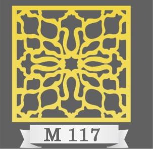 تایل سقفی دکوراتیو M117
