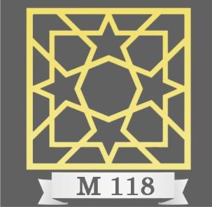 تایل سقفی دکوراتیو M118