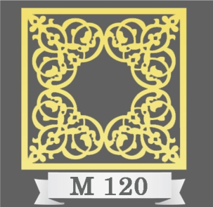 تایل سقفی دکوراتیو M120