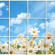 آسمان مجازی طرح گل و آسمان