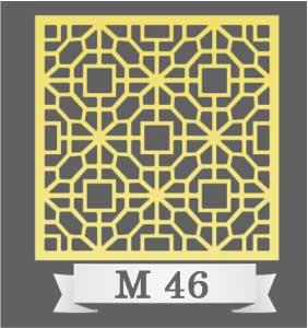 تایل سقفی دکوراتیو M46