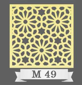 تایل سقفی دکوراتیو M49