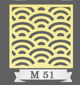 تایل سقفی دکوراتیو M51