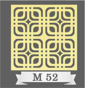 تایل سقفی دکوراتیو M52