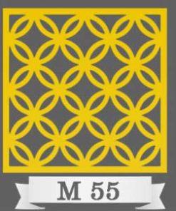 تایل سقفی دکوراتیو M55